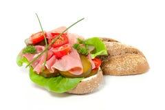 Een gezonde sandwich Royalty-vrije Stock Afbeelding