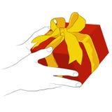 Een gift vector illustratie