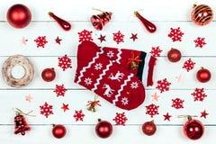 Een gift voor Kerstmis stock afbeeldingen
