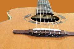 Een gitaar Stock Afbeeldingen