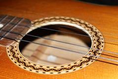 Een gitaar Royalty-vrije Stock Foto
