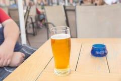 Een glas Bier stock foto's