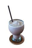 Een glas chocolade smoothies Royalty-vrije Stock Afbeelding