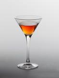 Een glas Cognac stock afbeelding