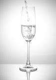 Een Glas dranken royalty-vrije stock foto