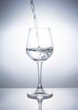 Een Glas dranken stock foto's