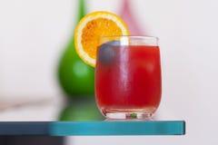 Een glas jus d'orange Stock Fotografie