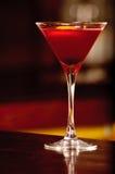 Een glas met cocktail Stock Afbeeldingen