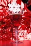 Een glas rode wijn Royalty-vrije Stock Afbeelding