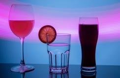 Een glas sherry stock fotografie
