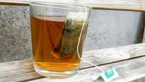 Een glas thee Royalty-vrije Stock Fotografie