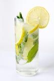 Een glas van mojitococktail Stock Afbeelding