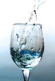 Een glas water. Stock Fotografie
