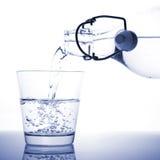 Een glas water Royalty-vrije Stock Foto's