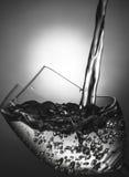 Een glas water Royalty-vrije Stock Fotografie