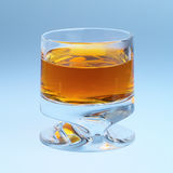 Een glas whisky Royalty-vrije Stock Afbeeldingen