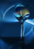 Een glas wijn Stock Afbeelding