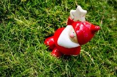 Een Glimlach Santa Claus Stock Afbeelding