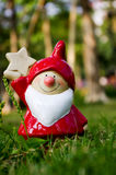 Een Glimlach Santa Claus Royalty-vrije Stock Afbeeldingen