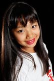Een glimlachend meisje Koreaan Royalty-vrije Stock Foto