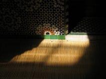 Een glimp van licht Stock Foto's