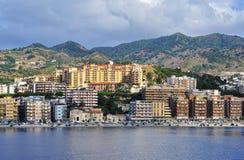 Een glimp van Messina. Stock Afbeeldingen