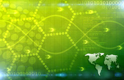 Een Globale Bedrijfs Abstracte groene Achtergrond Art Texture Royalty-vrije Stock Afbeelding