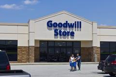 Een Goodwillopslag II Stock Afbeelding