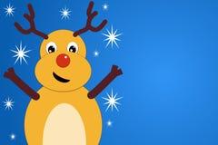 Een grappig Kerstmishert Stock Foto
