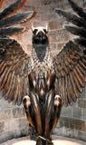 Een Griffioenstandbeeld in de Harry Potter-tentoonstelling in Londen het UK royalty-vrije stock fotografie