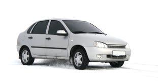 Een grijze auto Royalty-vrije Stock Foto