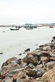 Een groep vissersboot Royalty-vrije Stock Foto's