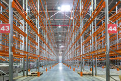 Een groot fabriekspakhuis Royalty-vrije Stock Fotografie