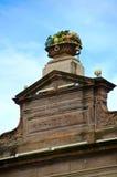De mandbeeldhouwwerk van het fruit, KoopvaardijStad, Glasgow Stock Foto