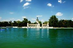 Een groot park in de stad van madr Royalty-vrije Stock Foto