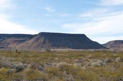 Een groot plateau in het heuvelland Royalty-vrije Stock Foto