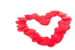 Een groot rood hart Stock Foto's