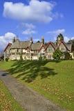 Een groot Victoriaans huis Royalty-vrije Stock Foto's