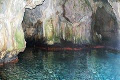 Een grot langs de Cilento-kustlijn, Palinuro, Italië stock fotografie