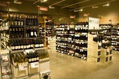 De opslag van de alcohol Royalty-vrije Stock Fotografie