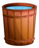 Een grote emmer water royalty-vrije illustratie
