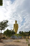 Een grote gouden Buddhas Stock Foto