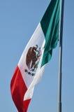 Een grote Mexicaanse vlag Royalty-vrije Stock Fotografie