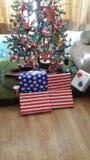 Een Grote Ole& x27; Amerikaanse Kerstmis royalty-vrije stock afbeeldingen