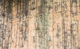 Een grunge houten muur met vignetting en textuur Stock Afbeelding
