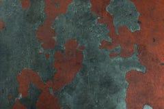 Een grungy oude geschilderde concrete textuur stock fotografie