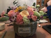 een hand - gemaakte bloem stock foto