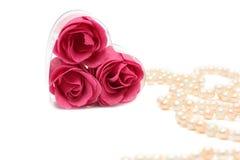 Een hart gevormde zeep Royalty-vrije Stock Fotografie