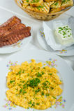 Een hartelijk ontbijt Royalty-vrije Stock Foto