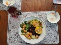 Een hartelijke maaltijd van goedheid Royalty-vrije Stock Foto